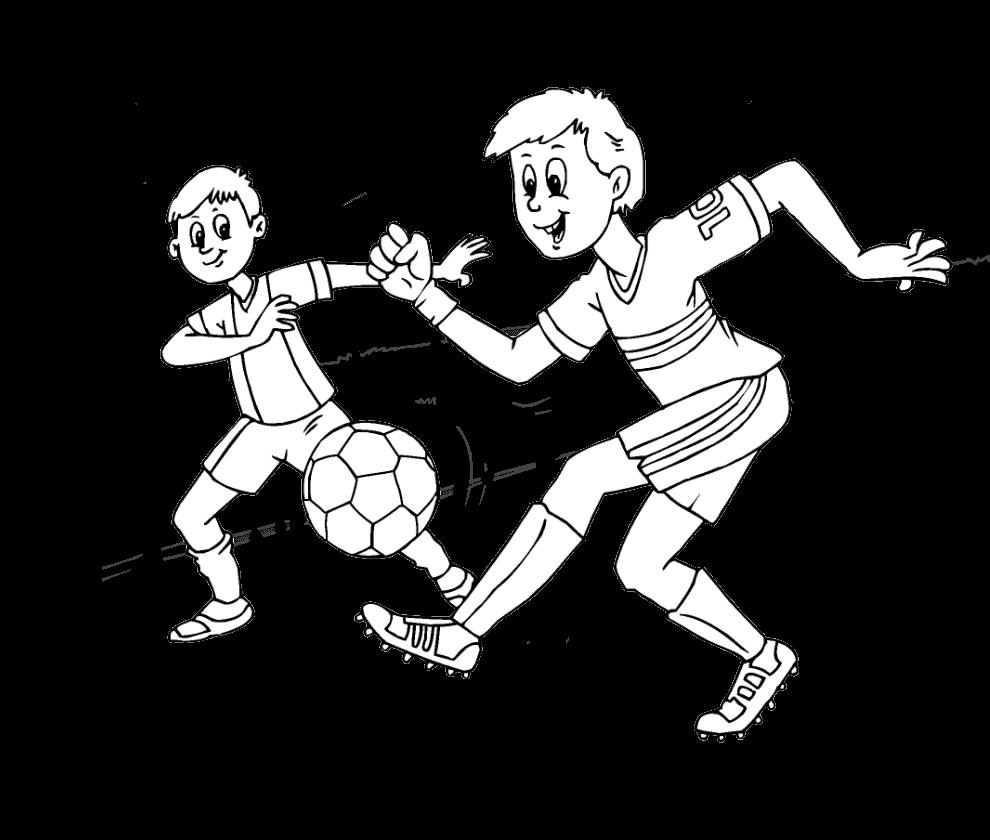 Раскраски для мальчиков спорт - 9