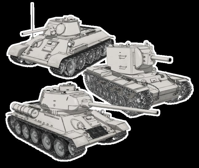 Распечатать раскраски танки