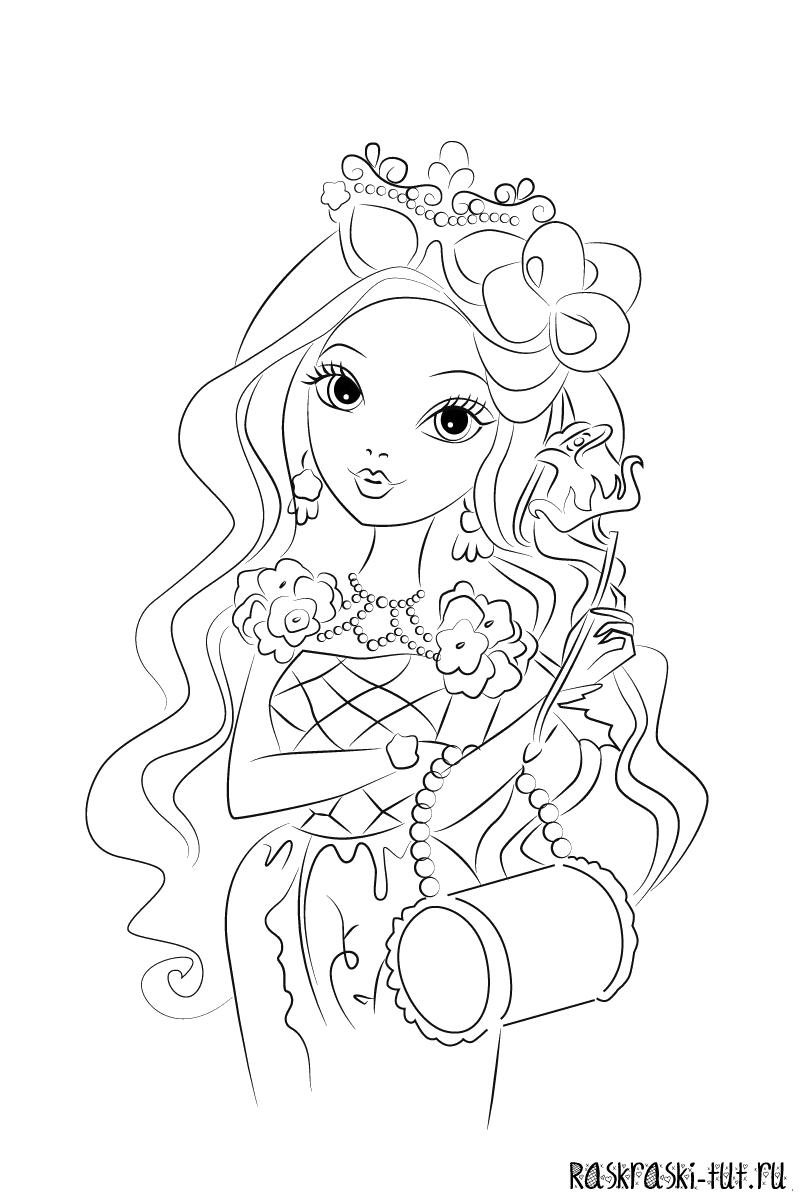 Игры раскраски кукол для девочек