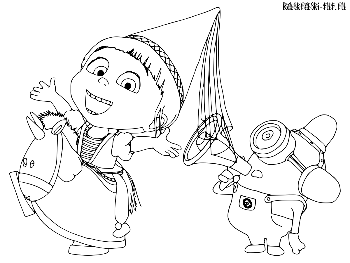minions coloring pages banana split - photo#10