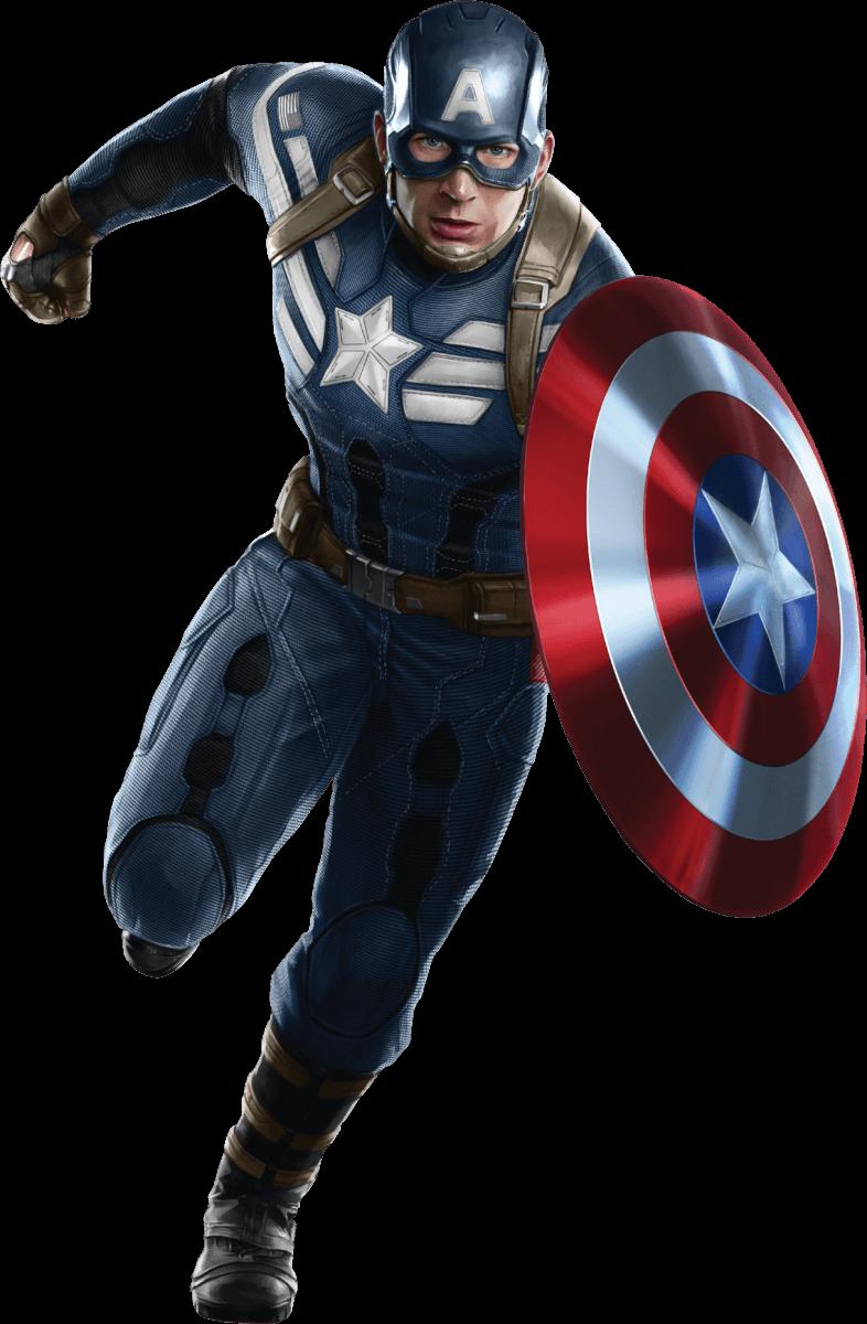 Распечатать раскраски Мстители - Капитан Америка