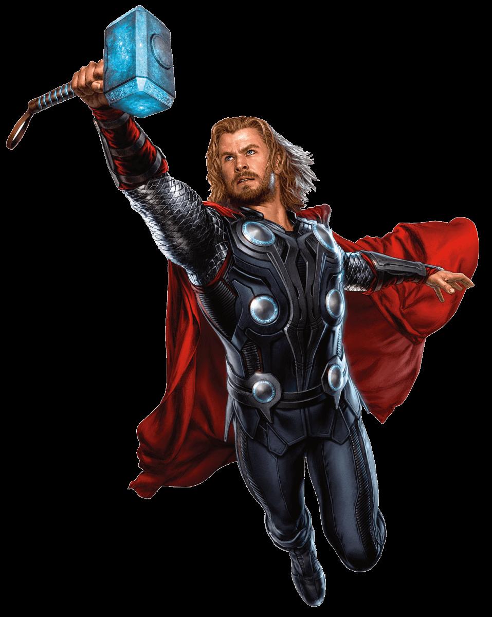 Распечатать раскраски Мстители - Тор