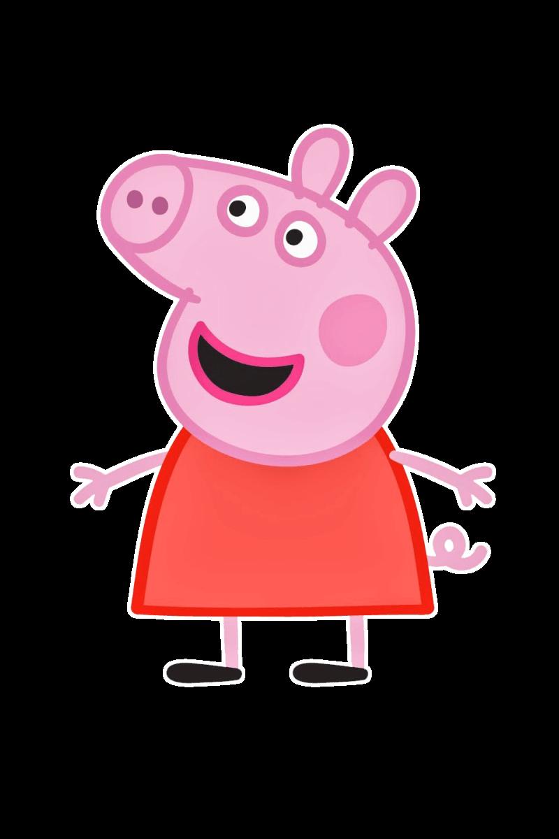 Распечатать раскраски Свинка Пеппа