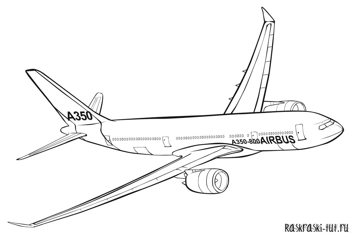 Самолёты расскраски