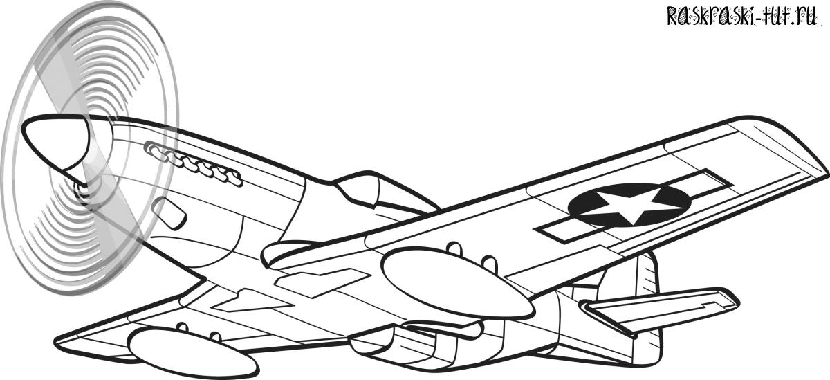 Расскраски самолетов