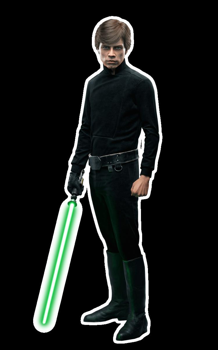 Распечатать раскраски Звездные Войны - Люк Скайуокер