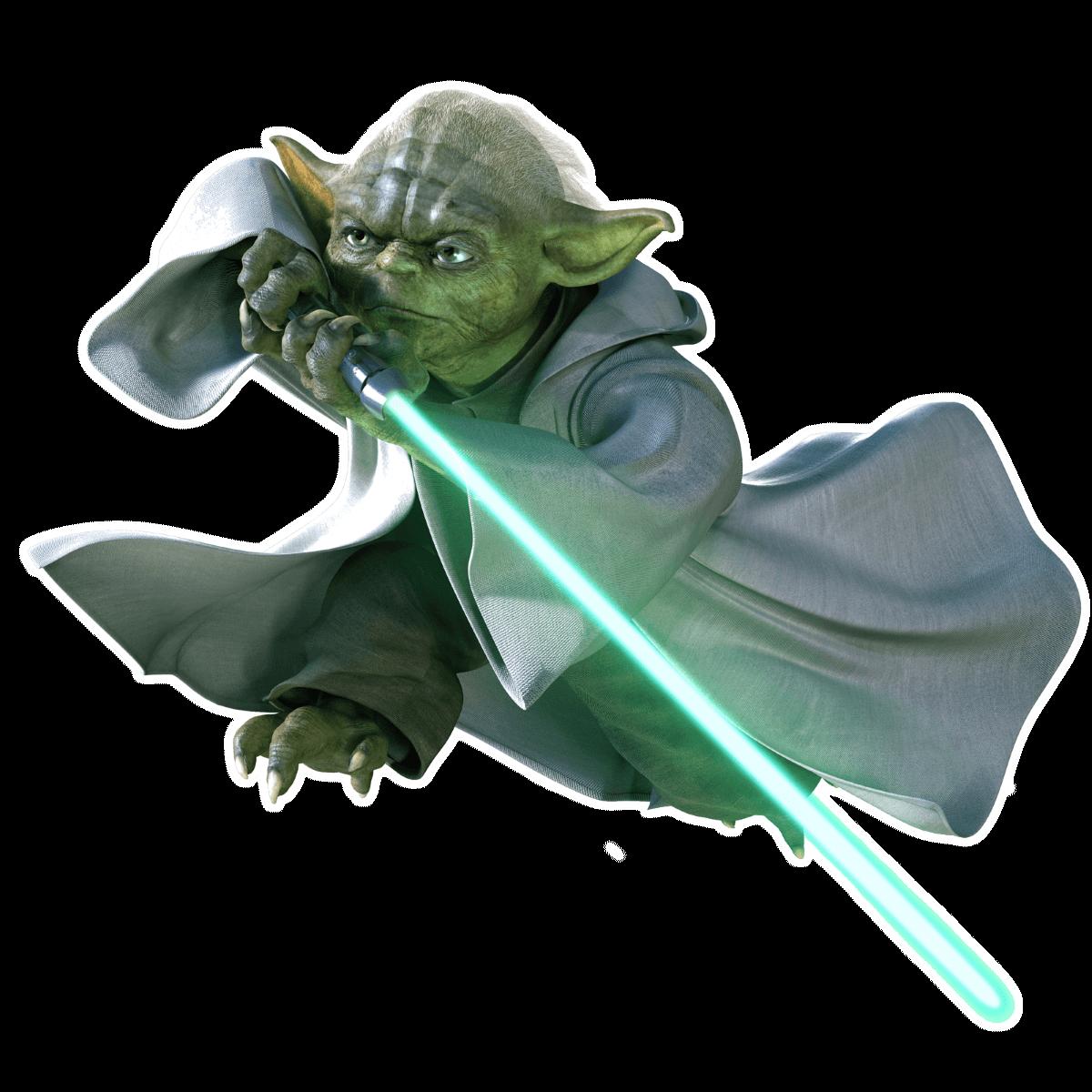 Распечатать раскраски Звездные Войны - Йода