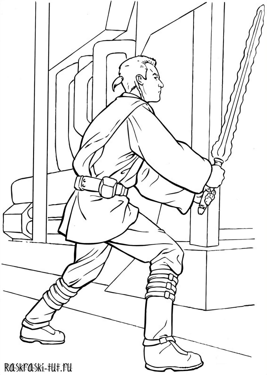 Распечатать раскраски Звездные Войны / Star Wars #2