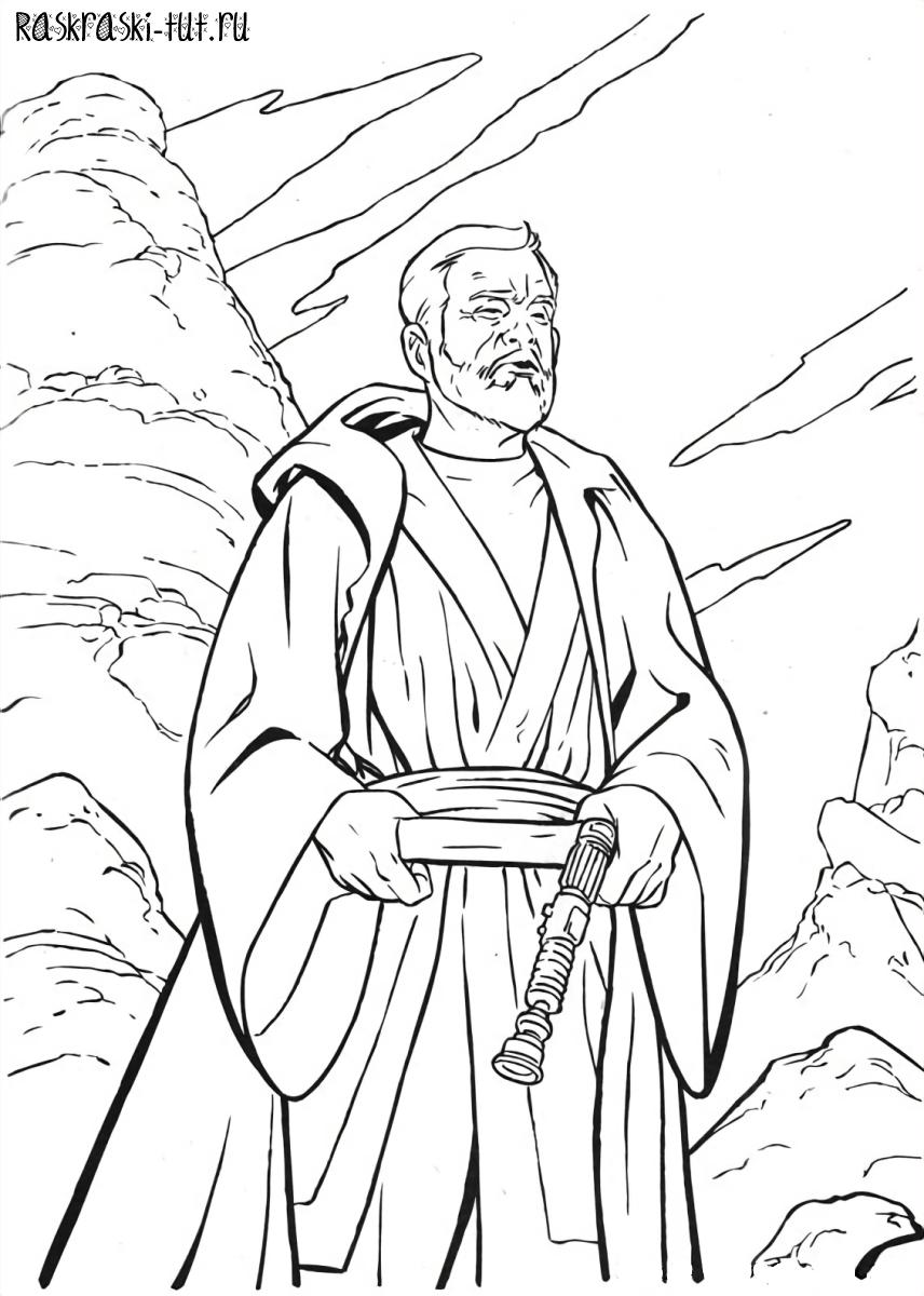 Распечатать раскраски Звездные Войны / Star Wars #6
