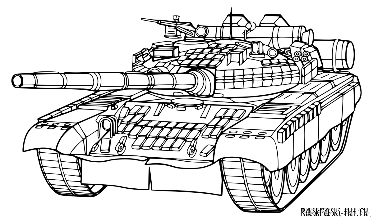 раскраски танки картинки