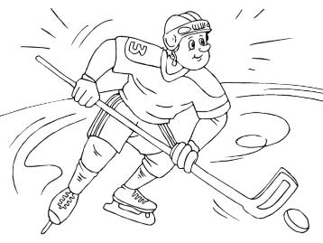 Картинки хоккей с шайбой